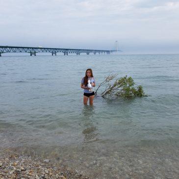 Day 2 . Michigan's Mackinaw City & U.P.