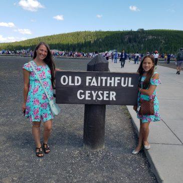 Day 15 . Old Faithful & Moose