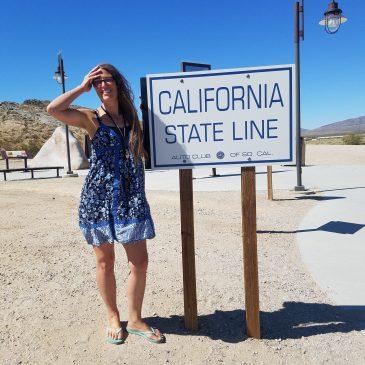 Day 24 . Arriving California, Mojave Desert