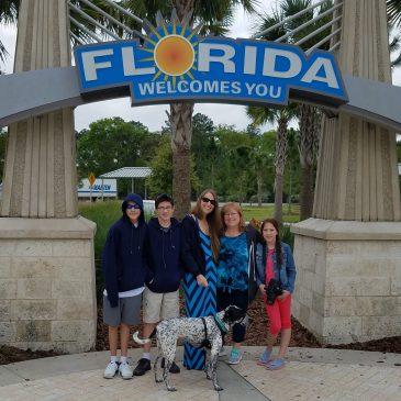 Family Trip Day 4 . Georgia to Florida