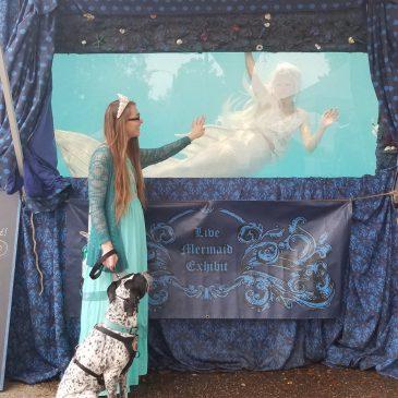 Family Trip Day 5 . Spring Hill Mermaid Festival
