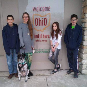 Family Trip Day 1 . Michigan to Kentucky