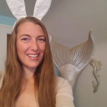 Happy Easter From this Merbunny
