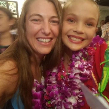 Hula, Lei Making, Ukulele Lessons, And My Goddaughter Dances