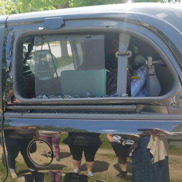 Broken Window And A Delayed Trip