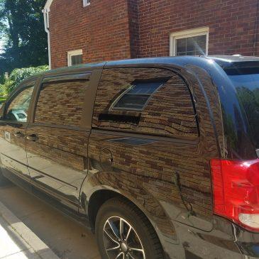 New Window For The Van