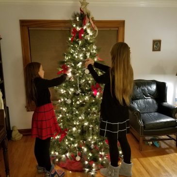 Decorating the Tree & Dancing