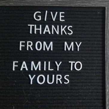 Thanksgiving Give Gratitude