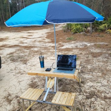 New Camping Table